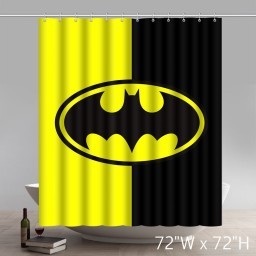 Symbol Batman Arkham Knight Bathing Shower Curtains