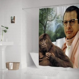 Jeff Goldblum Bath Shower Curtain Waterproof Fabric Shower Curtains