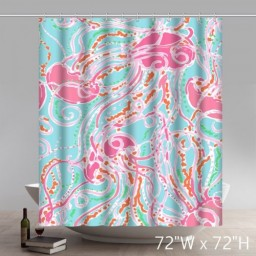 Liberty Art Flawless Gorgeous Creative Lilly Pulitzer Shower Retro Curtain  Shower 100% WaterProof